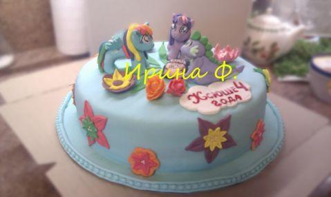 Торт мой маленький пони 1